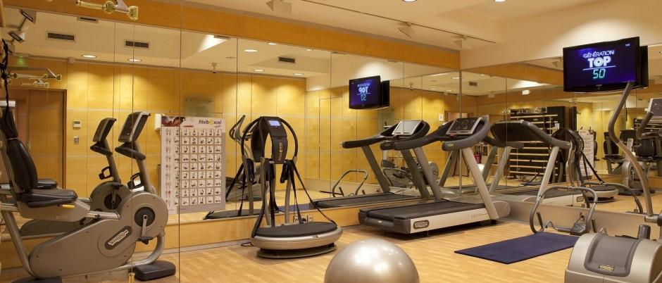 Fitness Room Hotel Au Manoir St Germain Des Pres Official Site